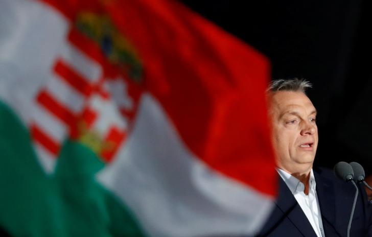 Il primo ministro ungherese Viktor Orban. REUTERS/Leonhard Foeger