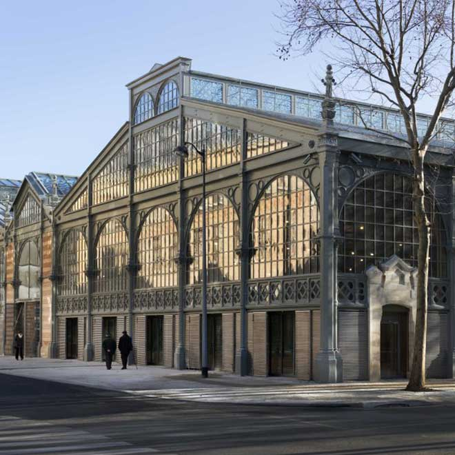 Carreau du Temple,  ©Fernando Javier Urquijo _ studio Milou architecture. Photo courtesy AKAA 2018
