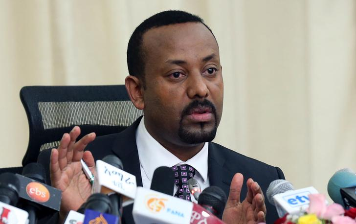 Il primo ministro etiope Abiy Ahmed. REUTERS/Kumera Gemechu