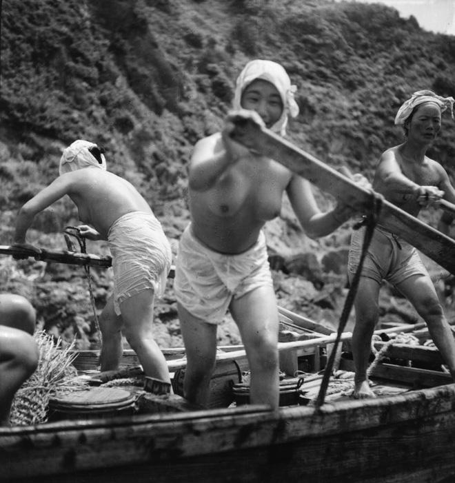 Domon Ken Pescatrici di perle (ama san) ,1948 457×560 Ken Domon Museum of Photography