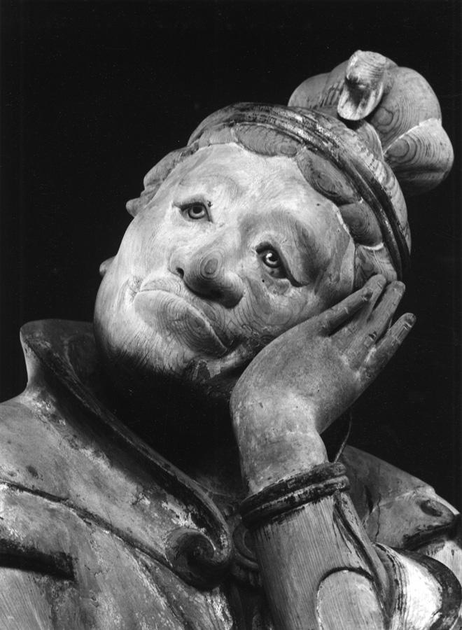 Domon Ken Hitsuji (Pecora), uno dei dodici guardiani (j ūnishinsh ō ) del Mur ōji, Nara, 1941 ‐43 535×748 Ken Domon Museum of Photography