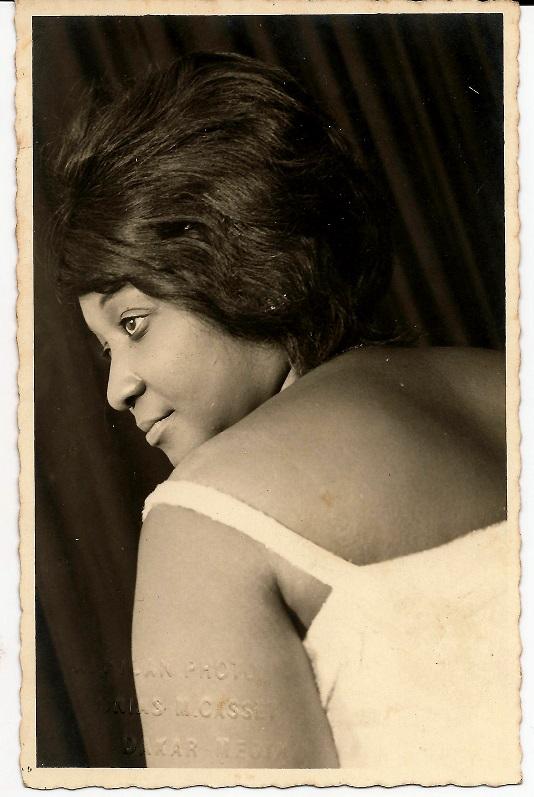 Foto di Mama Casset (dalla collezione di Ibrahima Thiam)