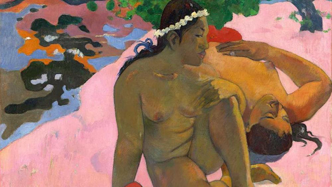 Paul Gauguin, «Aha oé feii (Eh quoi tu es jalouse?)» (Come, sei gelosa?) , estate 1892