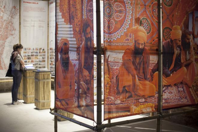 The Ephemeral Mega City of the Kumbh Mela in India. Rahul Mehrotra and Felipe Vera. Courtesy La Biennale di Venezia