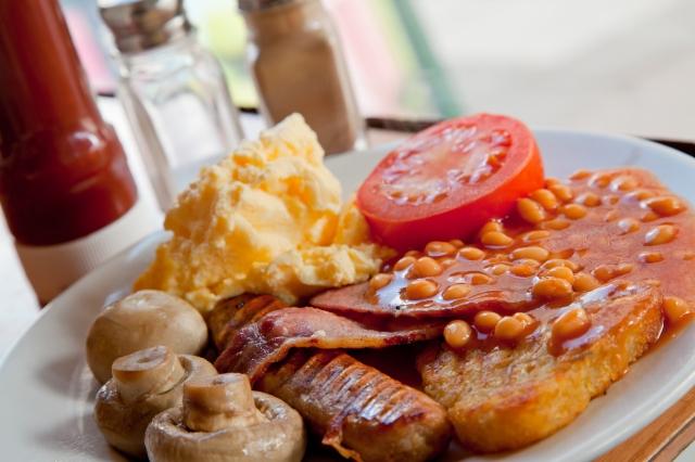 La colazione tradizionale inglese - Full English Breakfast