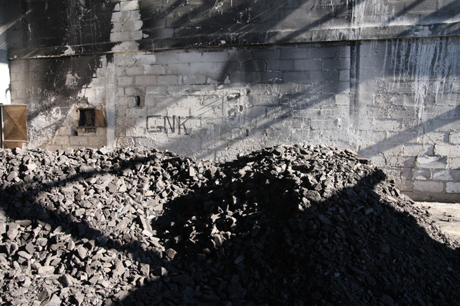 L'ex base dei caschi blu a Potocari. Foto Emanuele Confortin