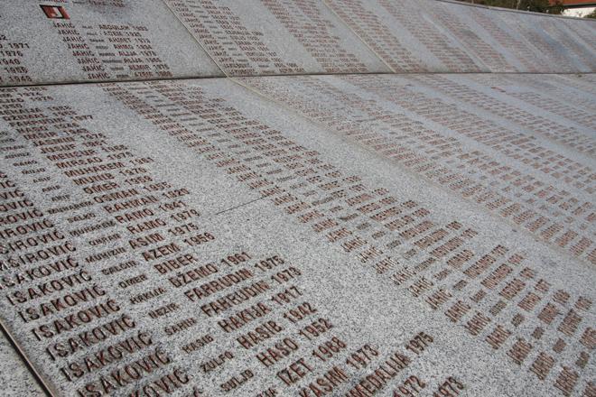 Srebrenica, memoriale di Potocari. Foto di Emanuele Confortin