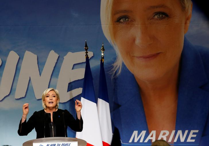 Marine Le Pen, leader del Front National. REUTERS/Jean-Paul Pelissier