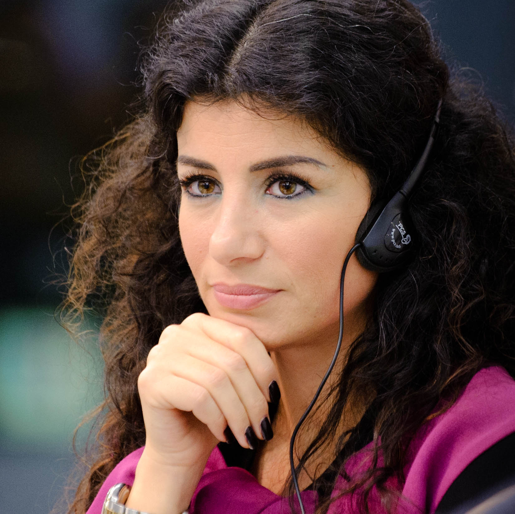 Joumana Haddad. By Heinrich Böll Stiftung from Berlin, Deutschland  [CC BY-SA 2.0], via Wikimedia Commons