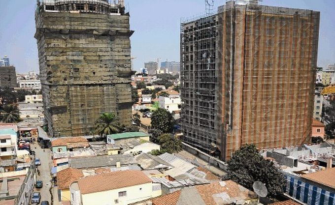 Skyscrapers and slums in Luanda (financialmail.co.za)