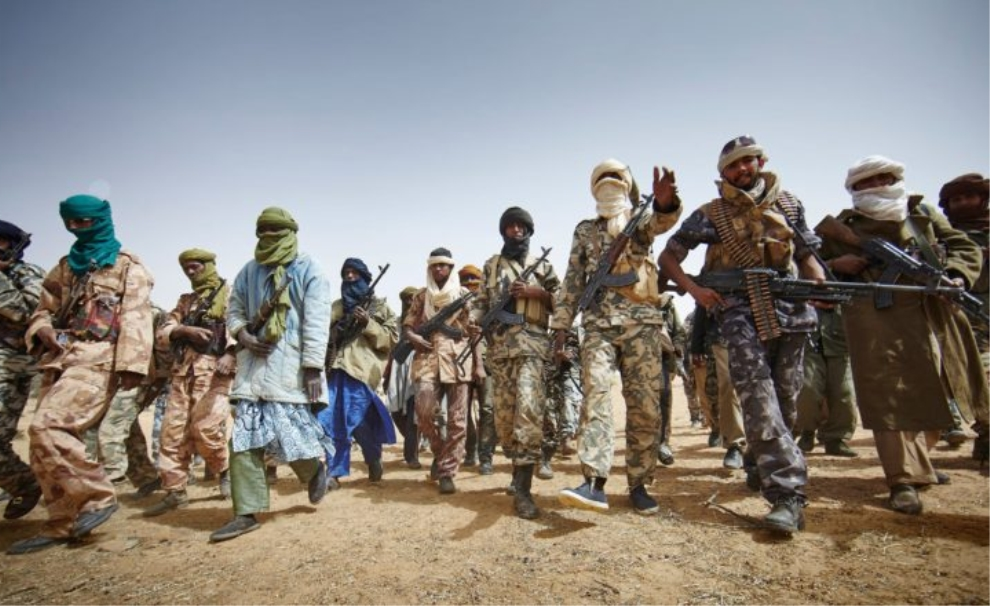 Malian Militant fighters in Mali. Credit Photo: Le Pays