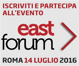 partecipa all'east forum 2016
