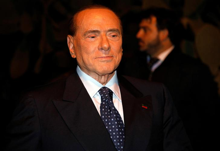 Silvio Berlusconi. REUTERS/Antonio Parrinello