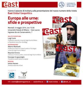 Presentazione a Milano il 6 maggio 2014