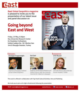 East 53 – Presentation 23 May 2014 in Istanbul