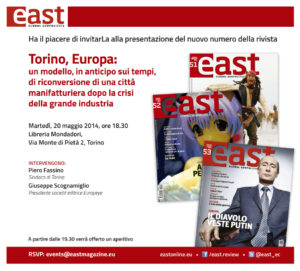 Presentazione a Torino il 20 maggio 2014