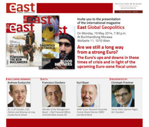 East 53 – Presentation 19 May 2014 in Wien