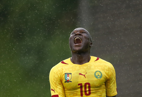 Vincent Aboubakar, giocatore del Cameroon - Photo Reuters