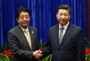 Cina: Abe con ghiaccio, Russia e Corea del Sud
