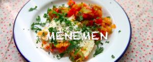 Turkish breakfast: menemen