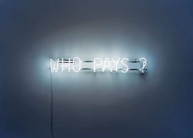 photo credit: RELAX (chiarenza & hauser & co), Who Pays?, 2006