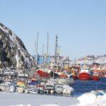 Il porto di Nuuk. REUTERS/Alistair Scrutton