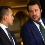 Matteo Salvini e Luigi Di Maio. REUTERS/Tony Gentile