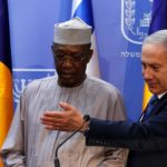 Benjamin Netanyahu e Idriss Deby a Gerusalemme il 25 novembre 2018. REUTERS / Ronen Zvulun