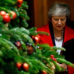 Il primo ministro britannico Theresa May lascia 10 Downing Street, Londra, Gran Bretagna, 4 dicembre 2018. REUTERS / Henry Nicholls