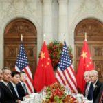 Donald Trump e Xi Jinping partecipano a una cena di lavoro dopo il vertice dei leader del G20 a Buenos Aires, in Argentina, 1 dicembre 2018. REUTERS / Kevin Lamarque