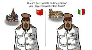 Maduro: il gioco delle differenze