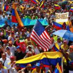 I sostenitori dell'opposizione prendono parte a una manifestazione contro il Presidente Nicolas Maduro a Maracaibo, Venezuela, 2 febbraio 2019. REUTERS/Isaac Urrutia