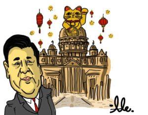 Roma saluta Xi