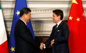 L'Italia sceglie la Cina