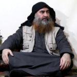 Abu Bakr al-Baghdadi ripreso nel video pubblicato sul web il 29 aprile 2019. Islamic State Group/Al Furqan Media Network/Reuters TV via REUTERS