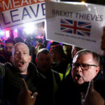 A demonstration in favour of Brexit in London. In 2019, the UK is scheduled to leave the European Union. REUTERS/Henry Nicholls/Contrast