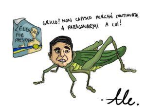 Comedians, talking crickets!