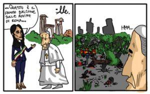 Le rovine di Roma