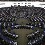 Il Parlamento Europeo di Strasburgo. Il tasso di rinnovo dei parlamentari è stimato tra il 40 e il 60%. Un Europarlamento di inesperti o pieno di euroscettici, potrebbe rallentare i processi decisionali. REUTERS/Vincent Kessler/Contrasto