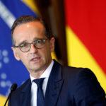Il Ministro degli Esteri tedesco Heiko Maas durante una conferenza stampa. 30 aprile 2019. REUTERS/Adriano Machado