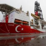 La nave da perforazione turca Yavuz nel porto di Dilovasi nella città occidentale di Kocaeli, Turchia, 20 giugno 2019. REUTERS/Murad Sezer