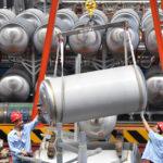 Una fabbrica di gas naturale liquefatto (gnl), 3 giugno 2019. REUTERS/Stringer