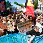 Una manifestazione per il clima in Germania. REUTERS/Thilo Schmuelgen/Contrasto