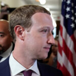 Mark Zuckerberg a Capitoll Hill, Washington. REUTERS/Joshua Roberts