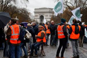 Agricoltori in protesta in tutta Europa