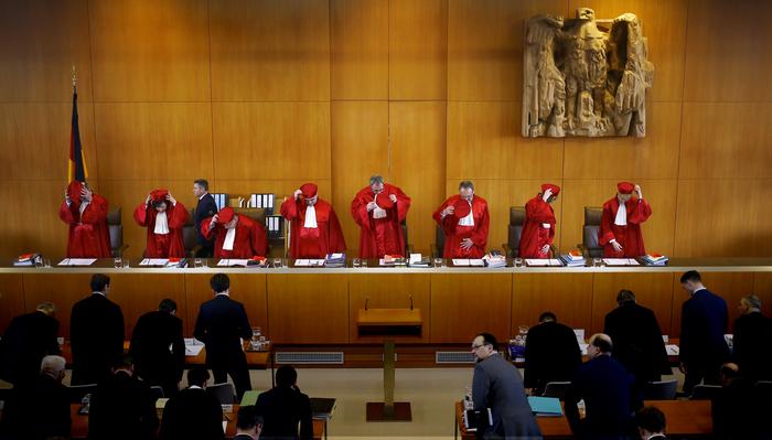 La Corte costituzionale tedesca. REUTERS/Kai Pfaffenbach