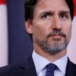 Il Primo Ministro canadese Justin Trudeau partecipa a una conferenza stampa sul volo PS752 da Teheran a Kiev che si è schiantato poco dopo il decollo, a Ottawa, Ontario, Canada, 8 gennaio 2020. REUTERS/Blair Gable