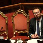Il Ministro della Giustizia italiano Alfonso Bonafede. REUTERS/Tony Gentile