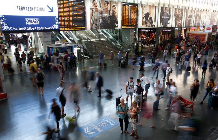 La stazione Termini a Roma, Italia. REUTERS/Max Rossi