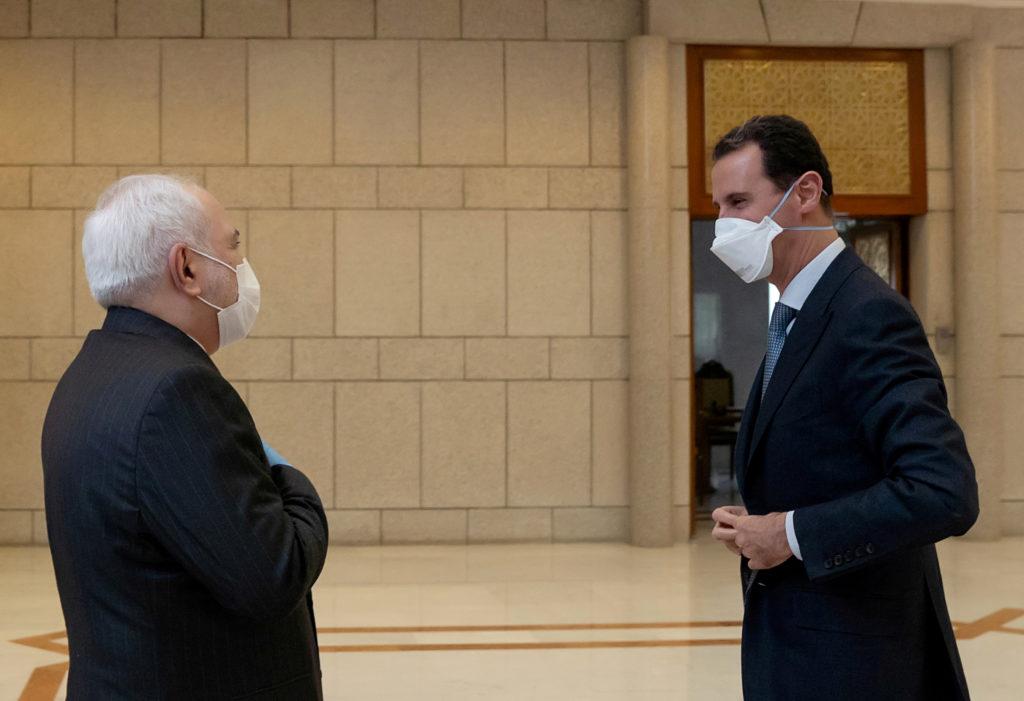 Siria, Zarif da Assad per riaffermare il legame con l'Iran